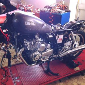 Xj 900 - Work in progress - foto #2